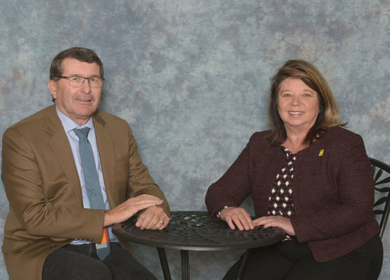SARM President Ray Orb & RMAA Past President Wendy Gowda