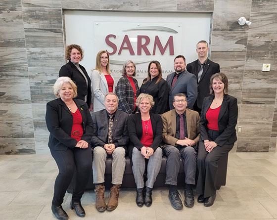 SARM President Ray Orb & RMAA Past President Wendy Gowda